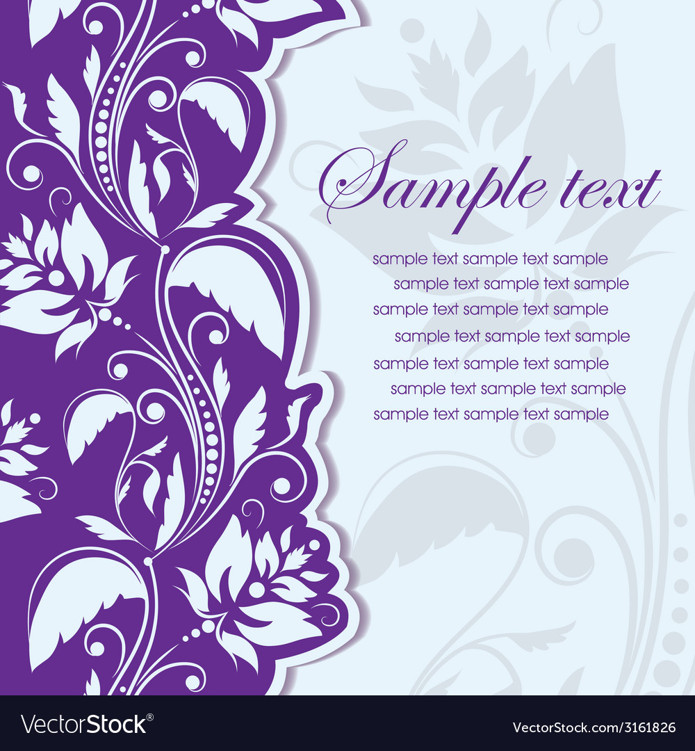 Template frame abstract background vector | Price: 1 Credit (USD $1)