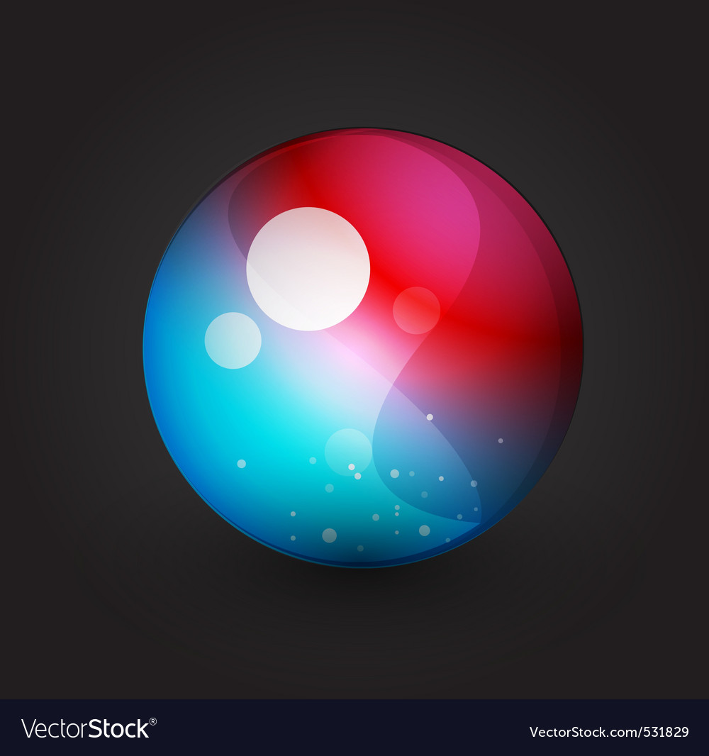 Abstract orb vector | Price: 1 Credit (USD $1)