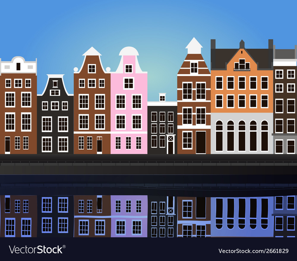 Amsterdam vector | Price: 1 Credit (USD $1)
