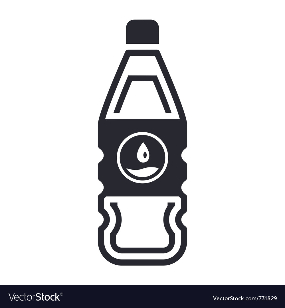 Liquid bottle vector | Price: 1 Credit (USD $1)
