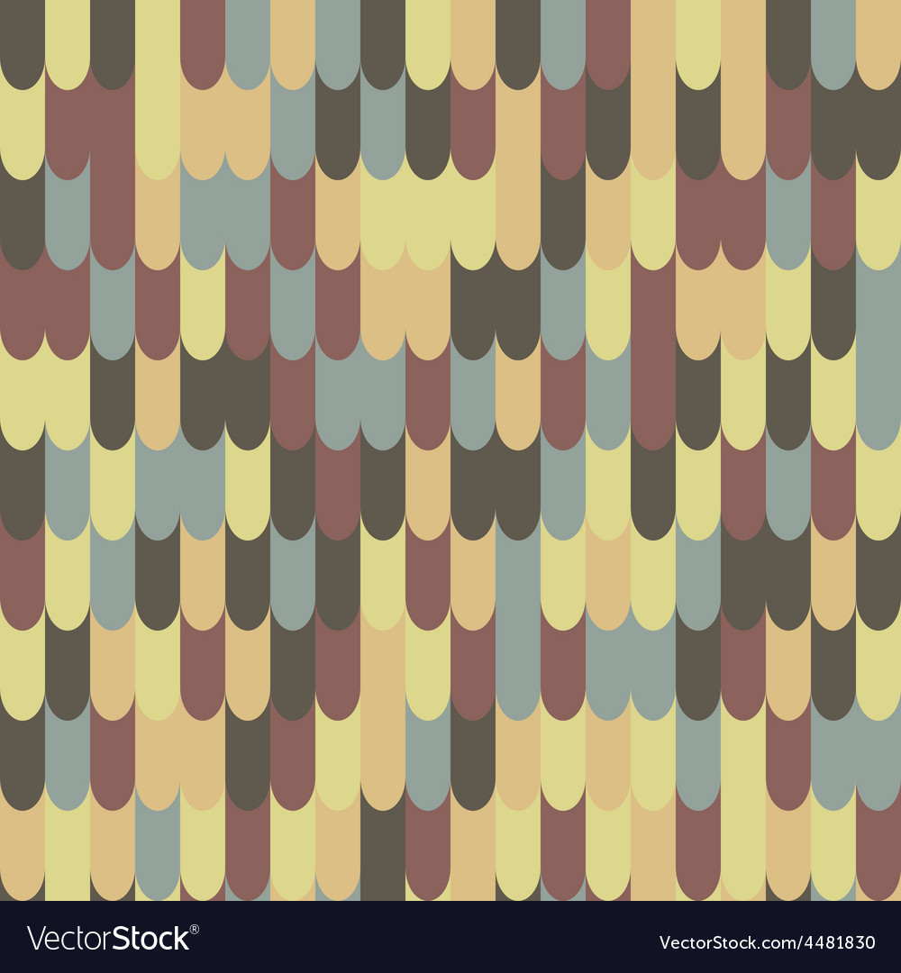 Abstract seamless roof tile pattern vector | Price: 1 Credit (USD $1)