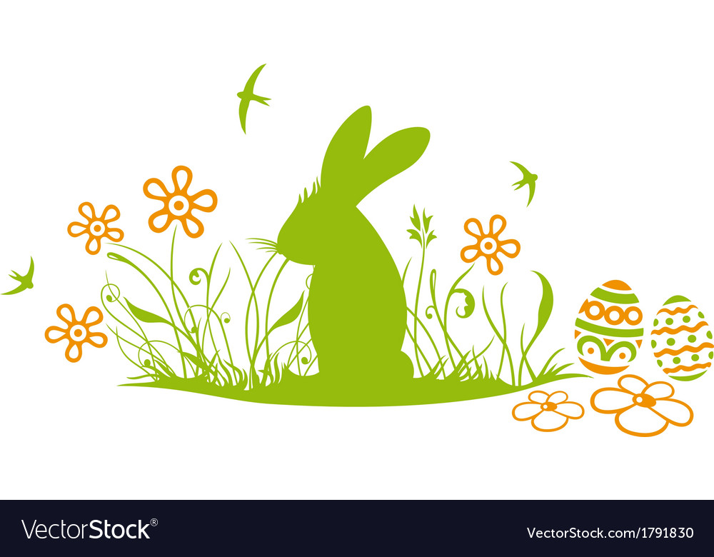 Easter spring vector | Price: 1 Credit (USD $1)