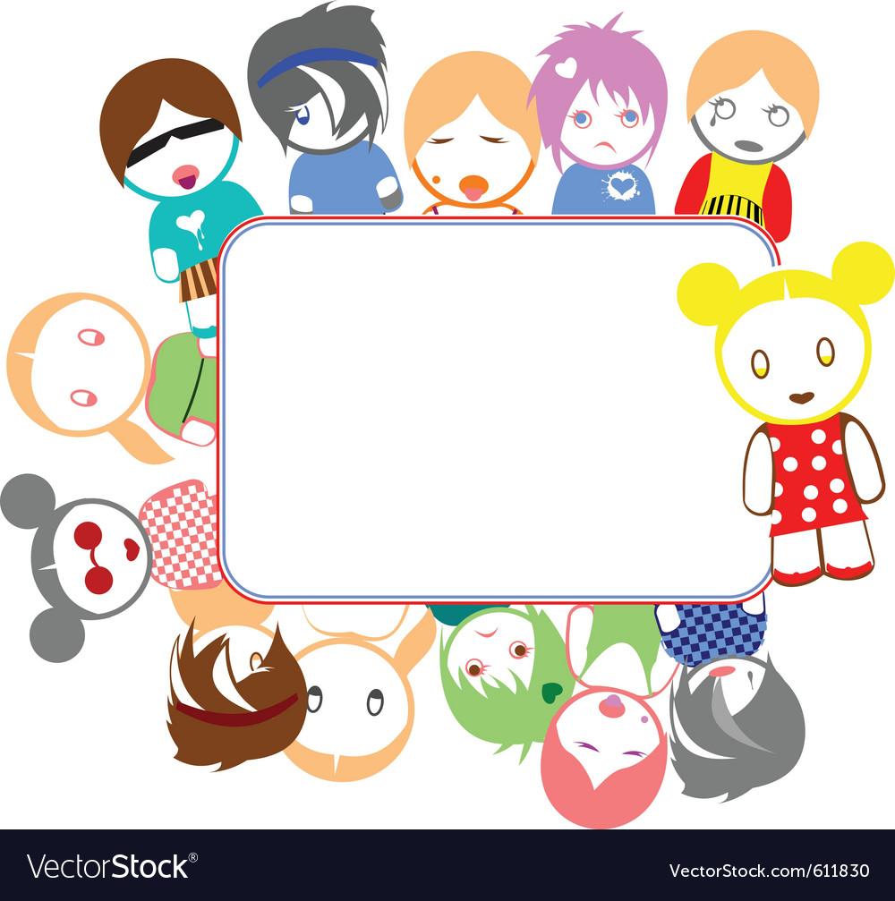 Emo kids vector   Price: 1 Credit (USD $1)