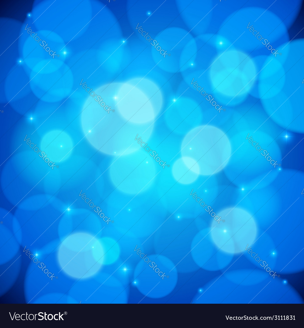 Blue bokeh effect abstract background vector   Price: 1 Credit (USD $1)