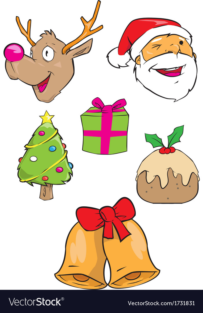Christmas images vector | Price: 1 Credit (USD $1)
