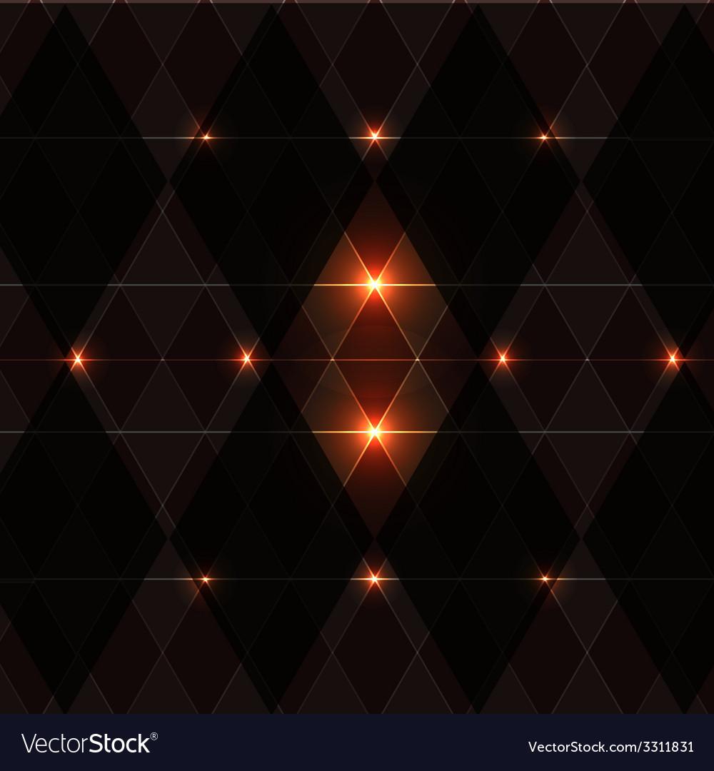 Orange wink vintage pattern background vector | Price: 1 Credit (USD $1)