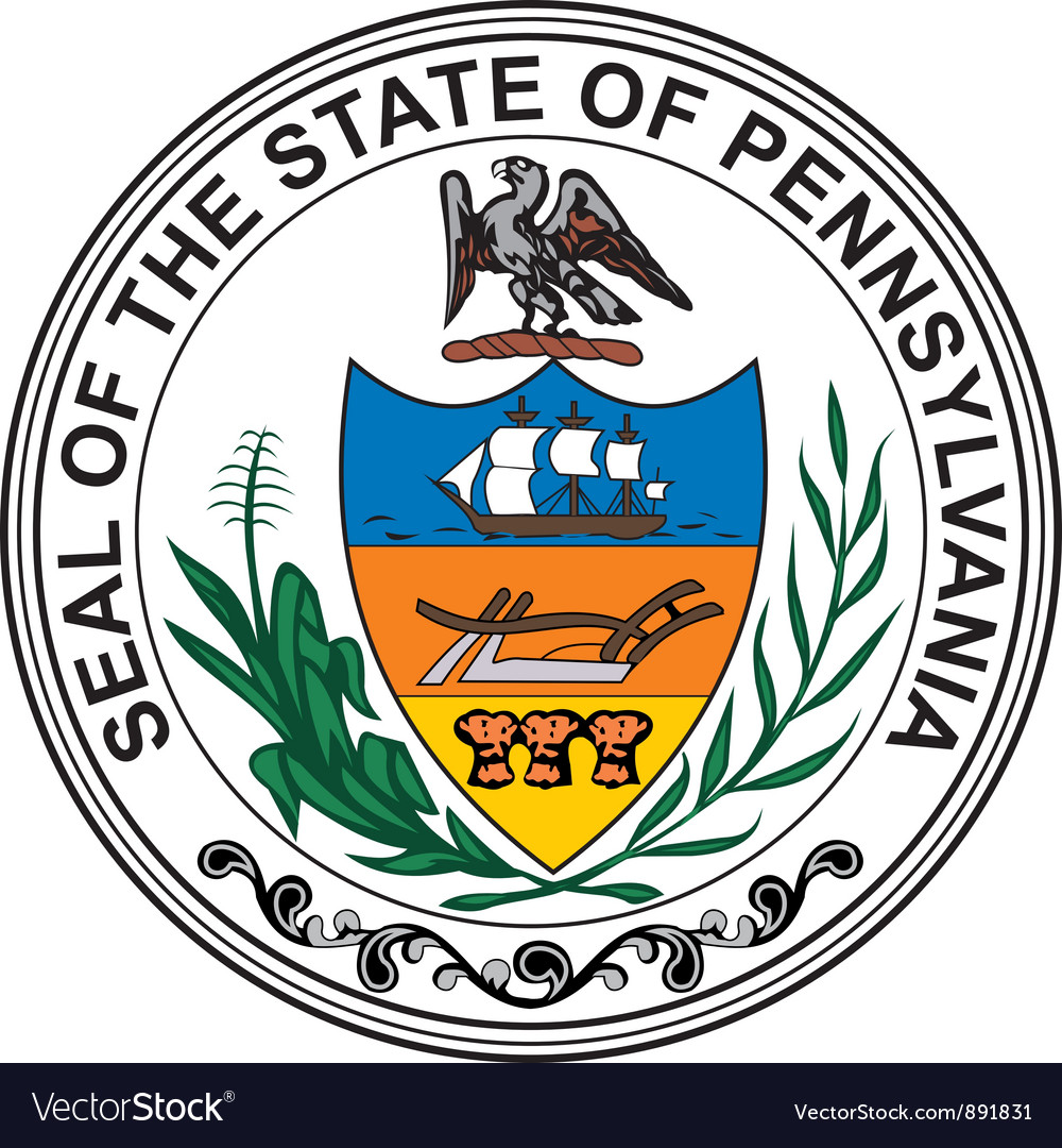 Pennsylvania seal vector   Price: 1 Credit (USD $1)