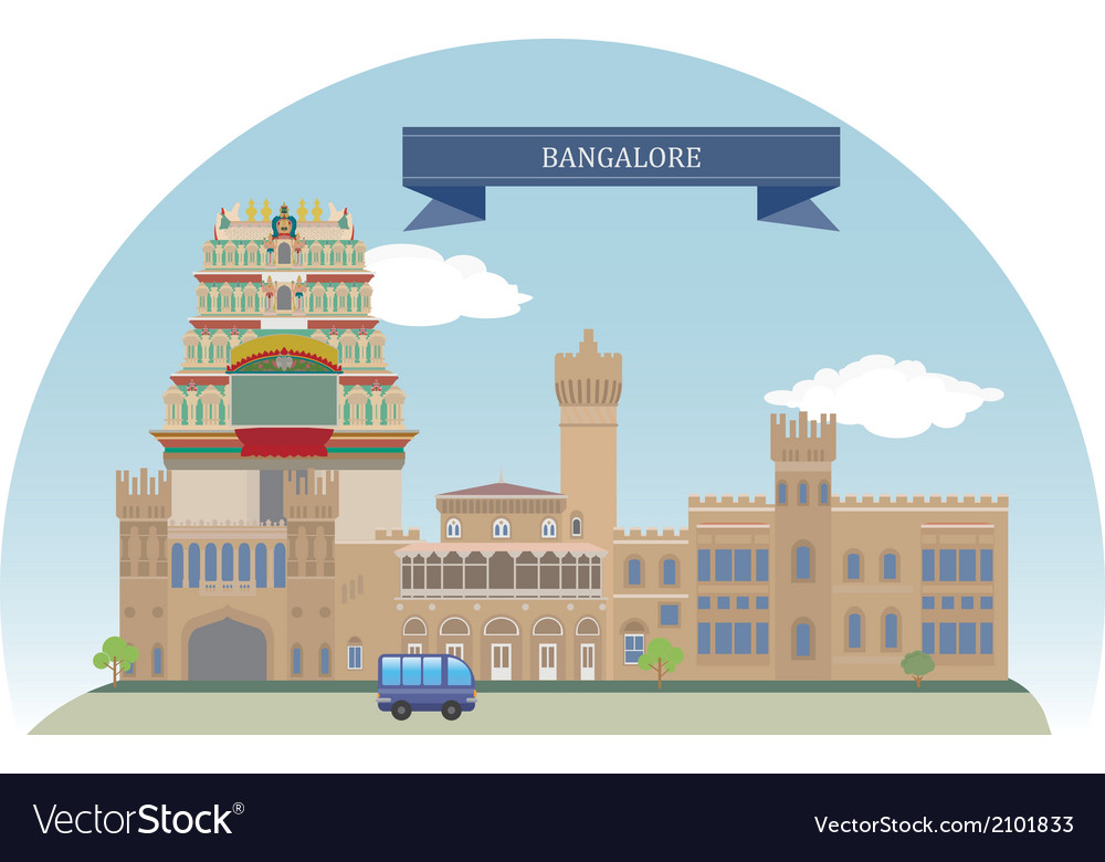 Bangalore vector | Price: 1 Credit (USD $1)
