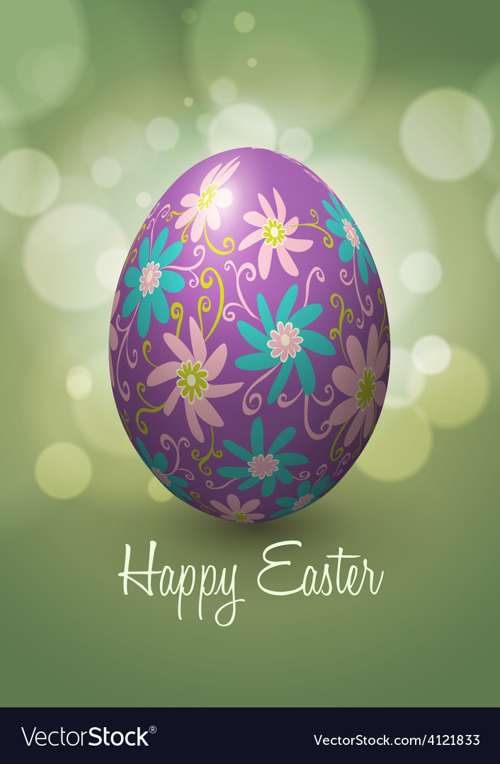 Easter egg design vector   Price: 3 Credit (USD $3)