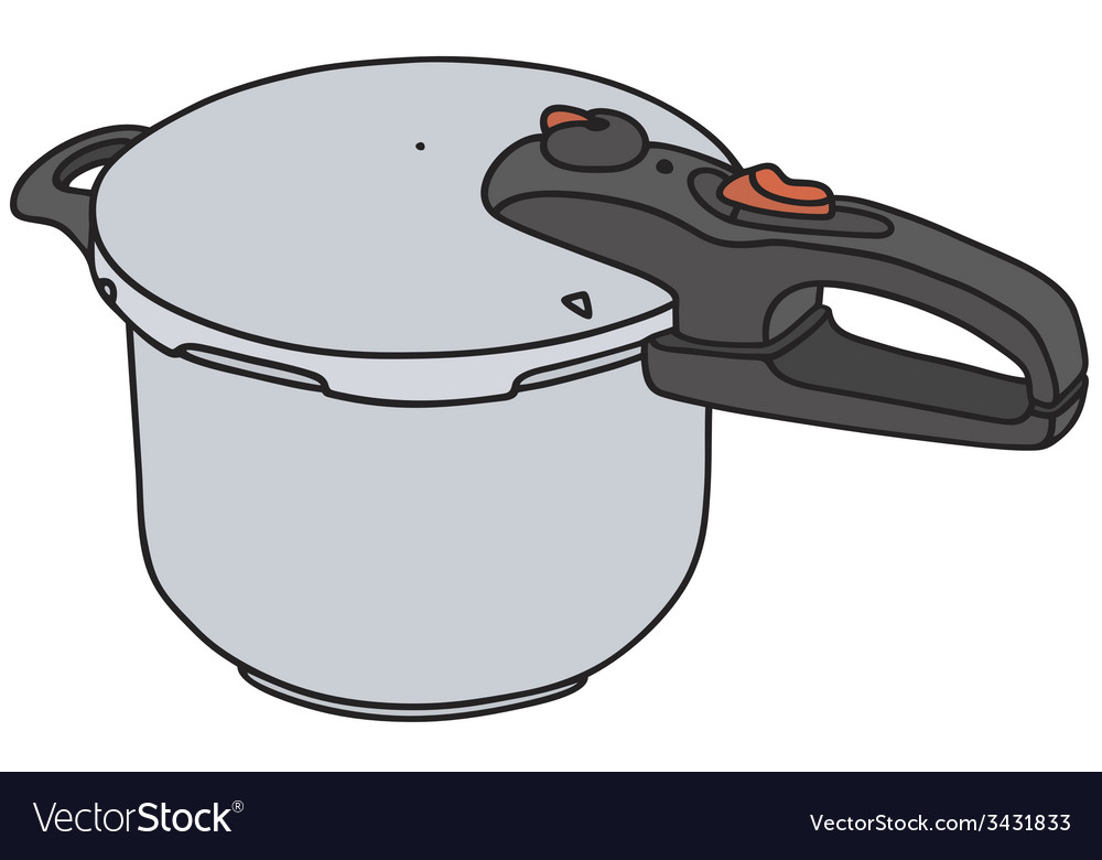 Pressure cooker vector | Price: 1 Credit (USD $1)