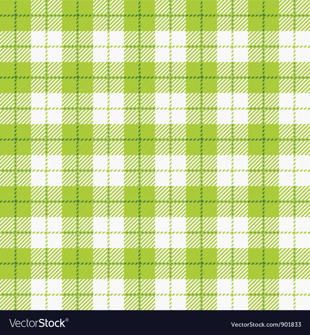 Seamless checkered tablecloth vector | Price: 1 Credit (USD $1)