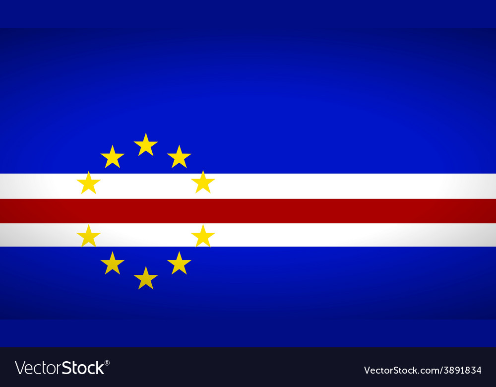 Flag of cape verde vector | Price: 1 Credit (USD $1)
