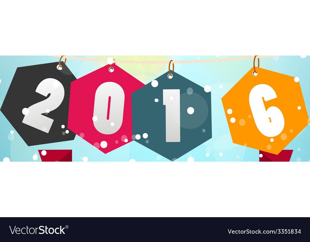 Happy new year 2016 vector   Price: 1 Credit (USD $1)