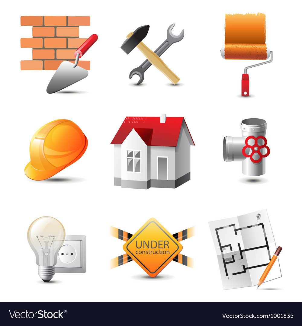 Build icons vector | Price: 3 Credit (USD $3)
