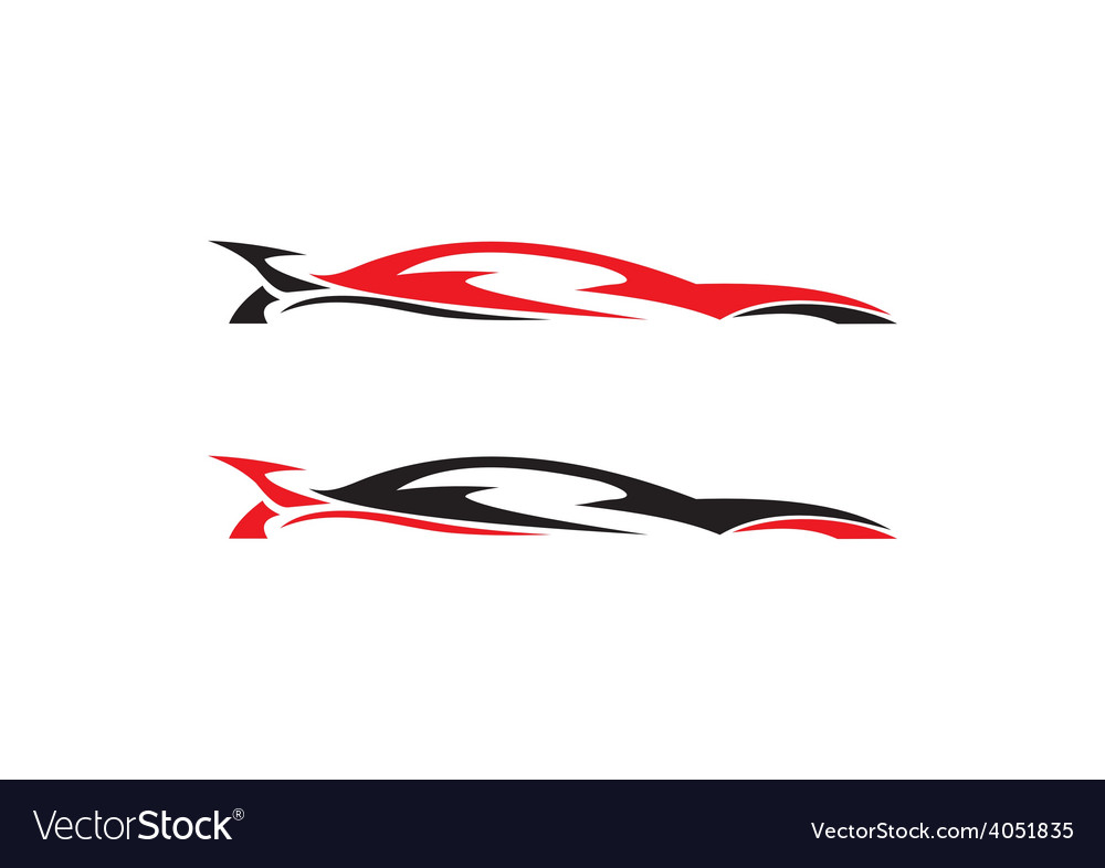Car abstract automotive logo vector | Price: 1 Credit (USD $1)