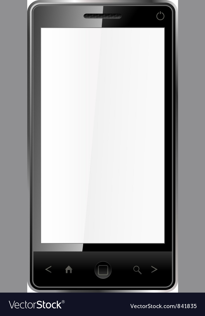 Touchscreen phone vector | Price: 3 Credit (USD $3)