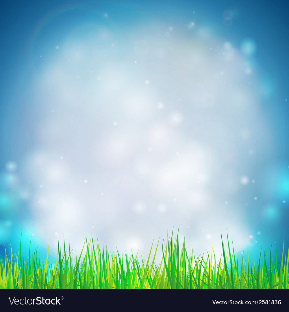 Abstract background with grass  design for print vector | Price: 1 Credit (USD $1)