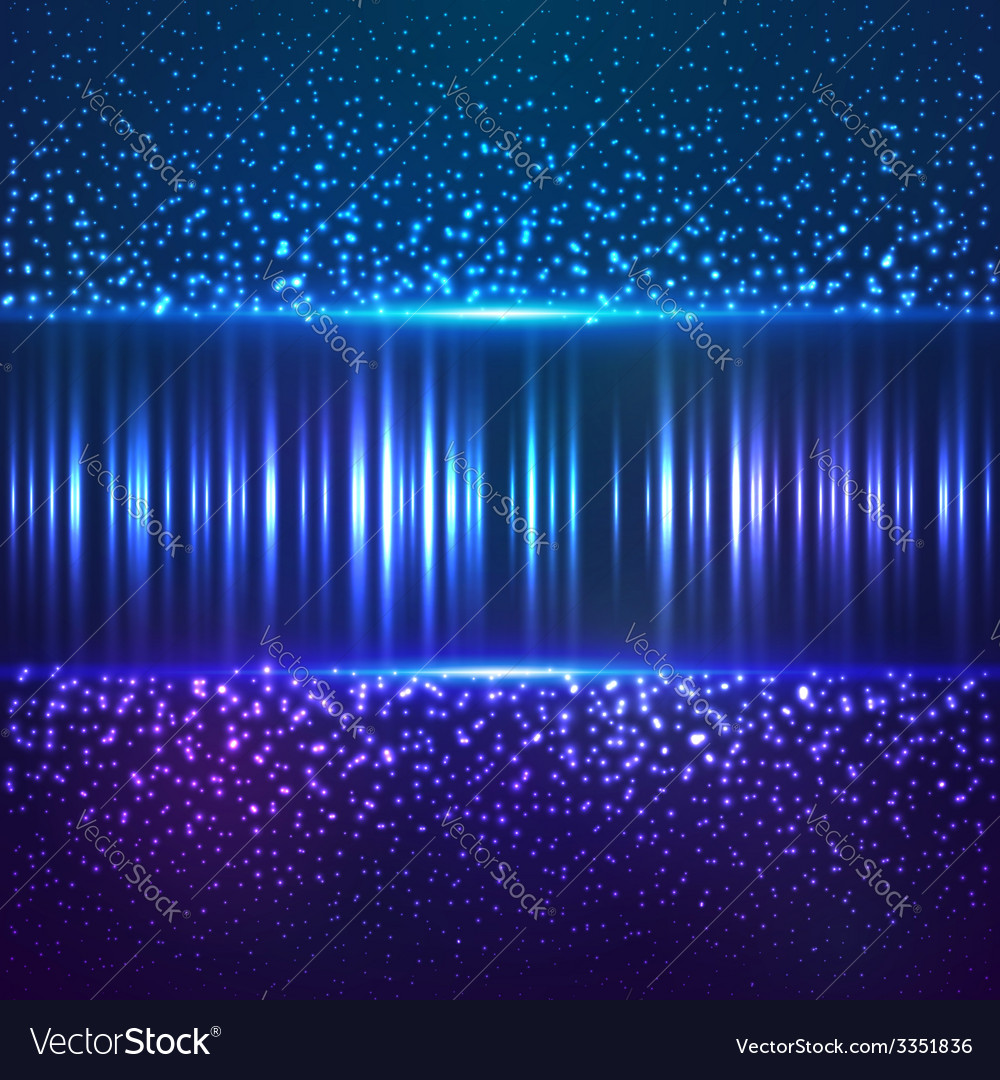 Blue star dust abctract background vector | Price: 1 Credit (USD $1)