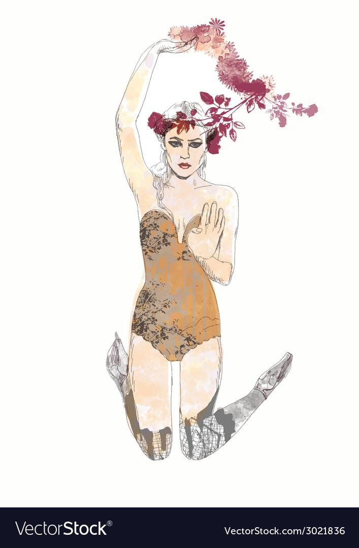Fashion fairy vector | Price: 1 Credit (USD $1)