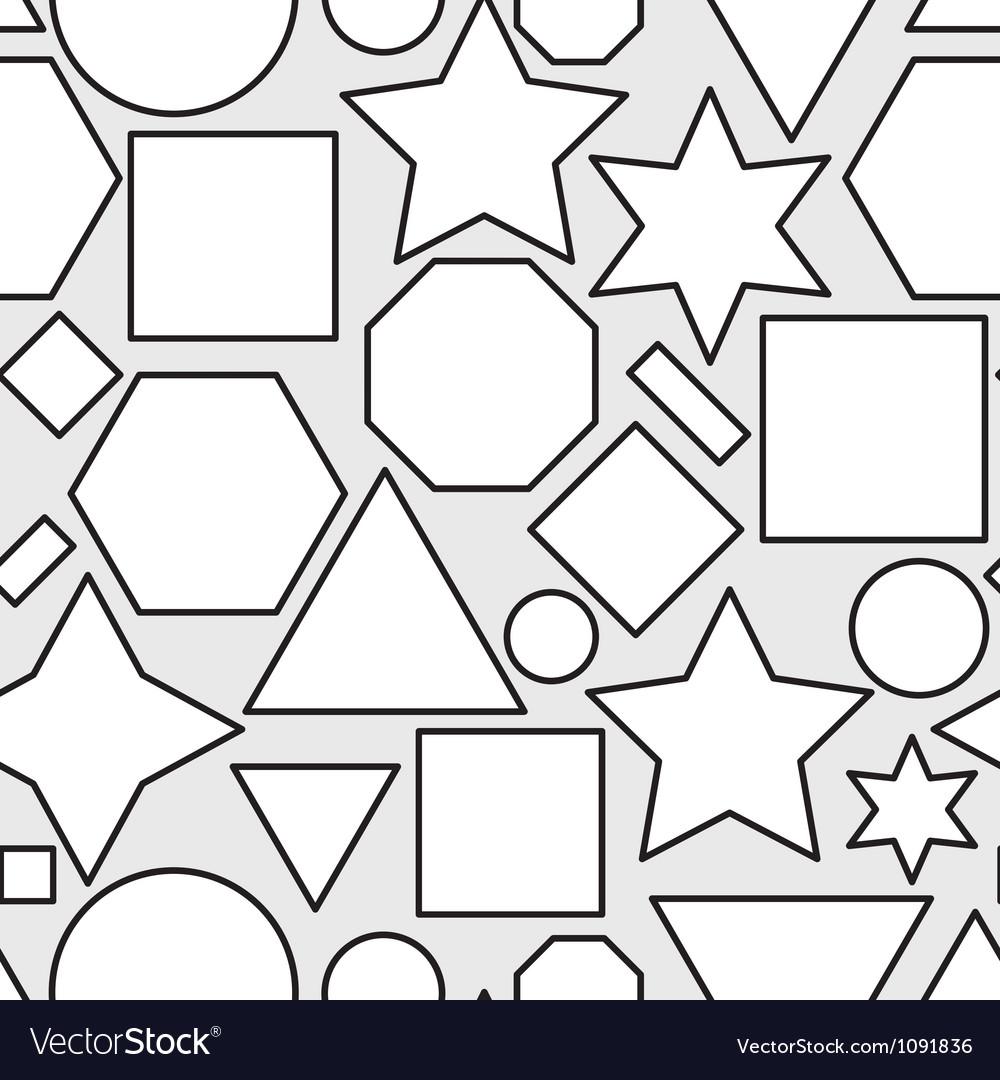 Geometry seamless pattern vector | Price: 1 Credit (USD $1)