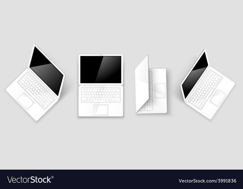 Laptops vector | Price: 1 Credit (USD $1)