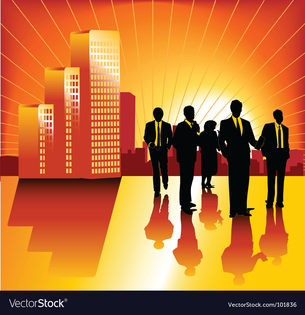 Morning business vector | Price: 1 Credit (USD $1)