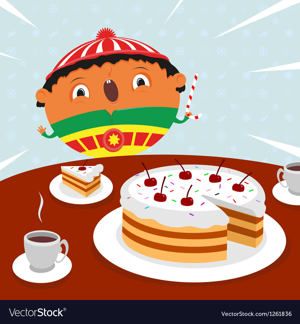 Surprise birthday vector | Price: 3 Credit (USD $3)