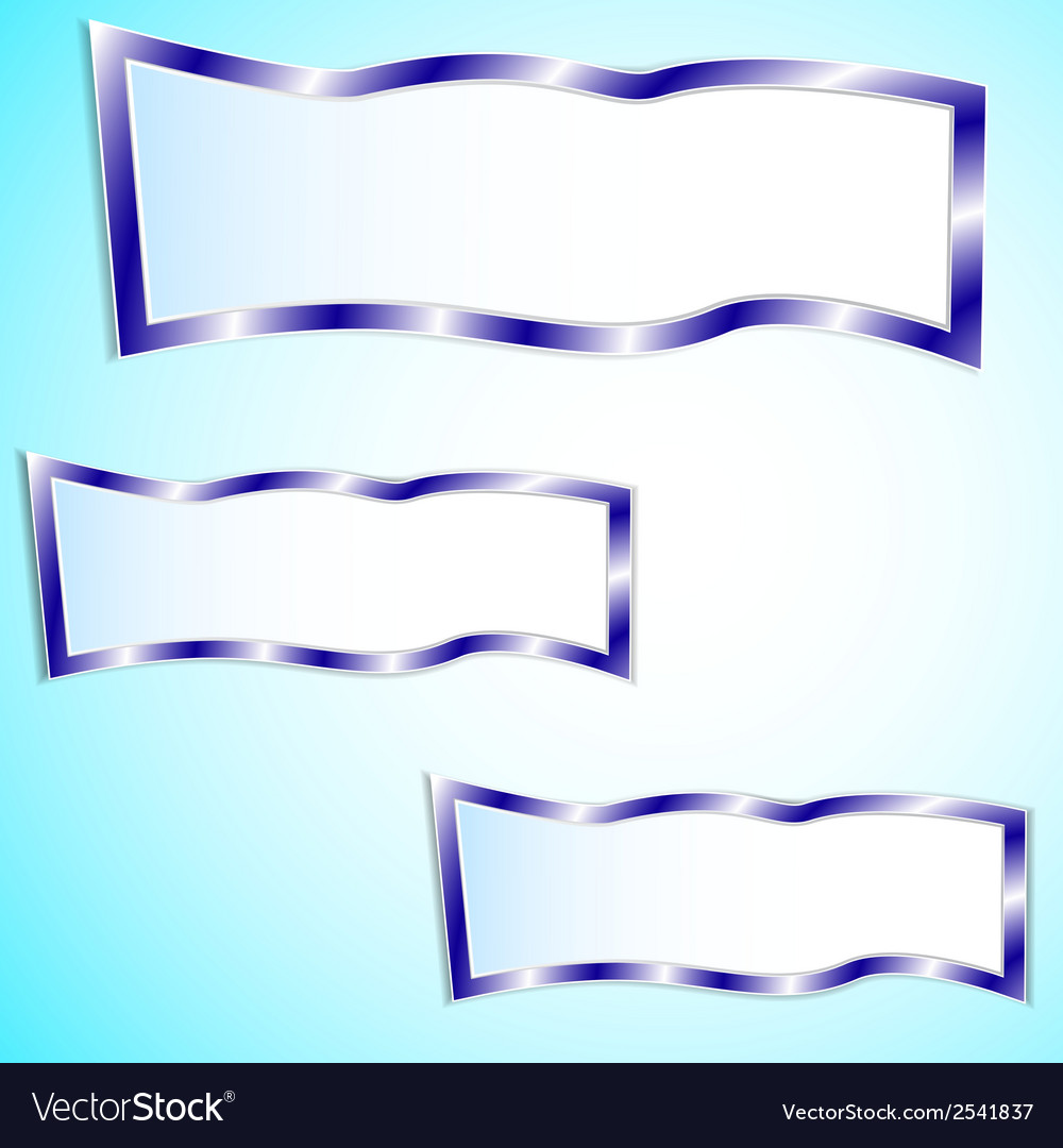Graphic blue background for text and message vector | Price: 1 Credit (USD $1)