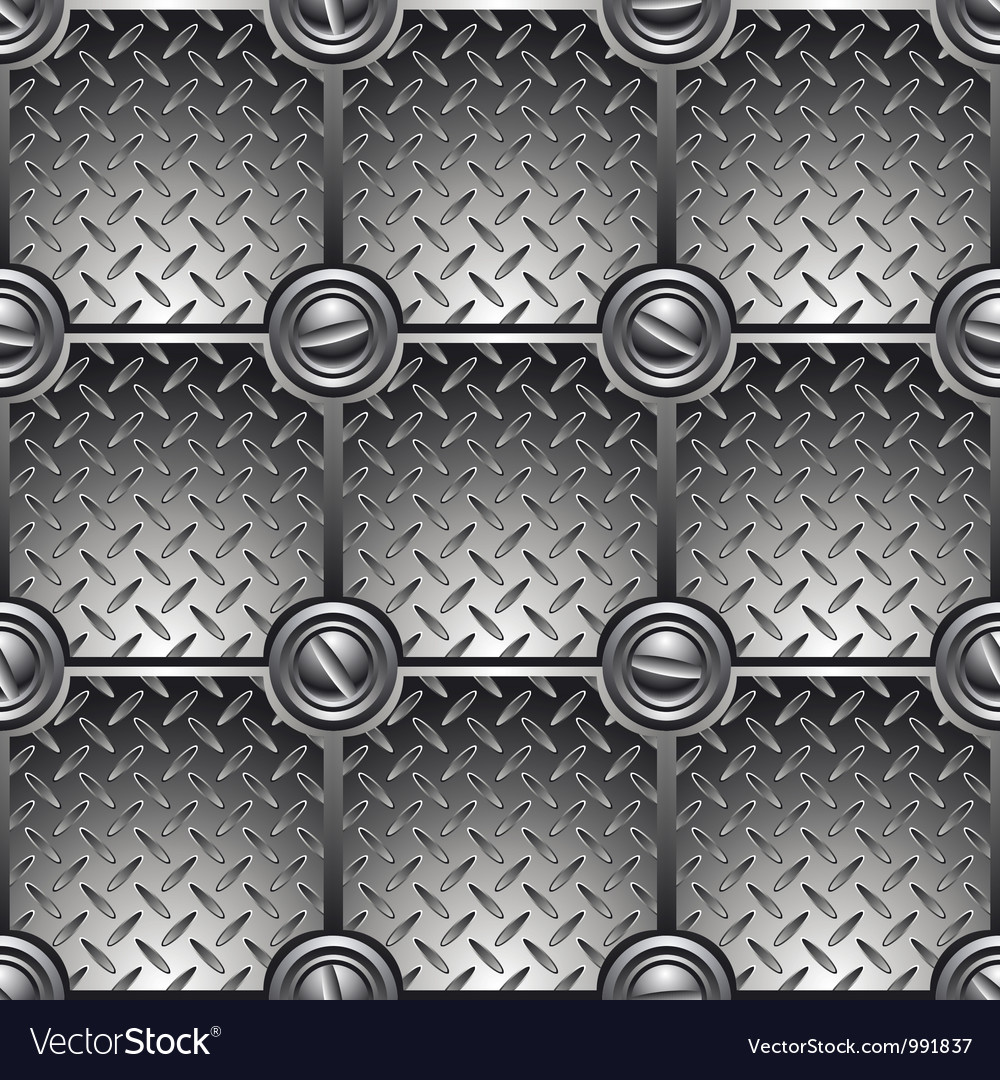 Tiled metal background vector | Price: 1 Credit (USD $1)