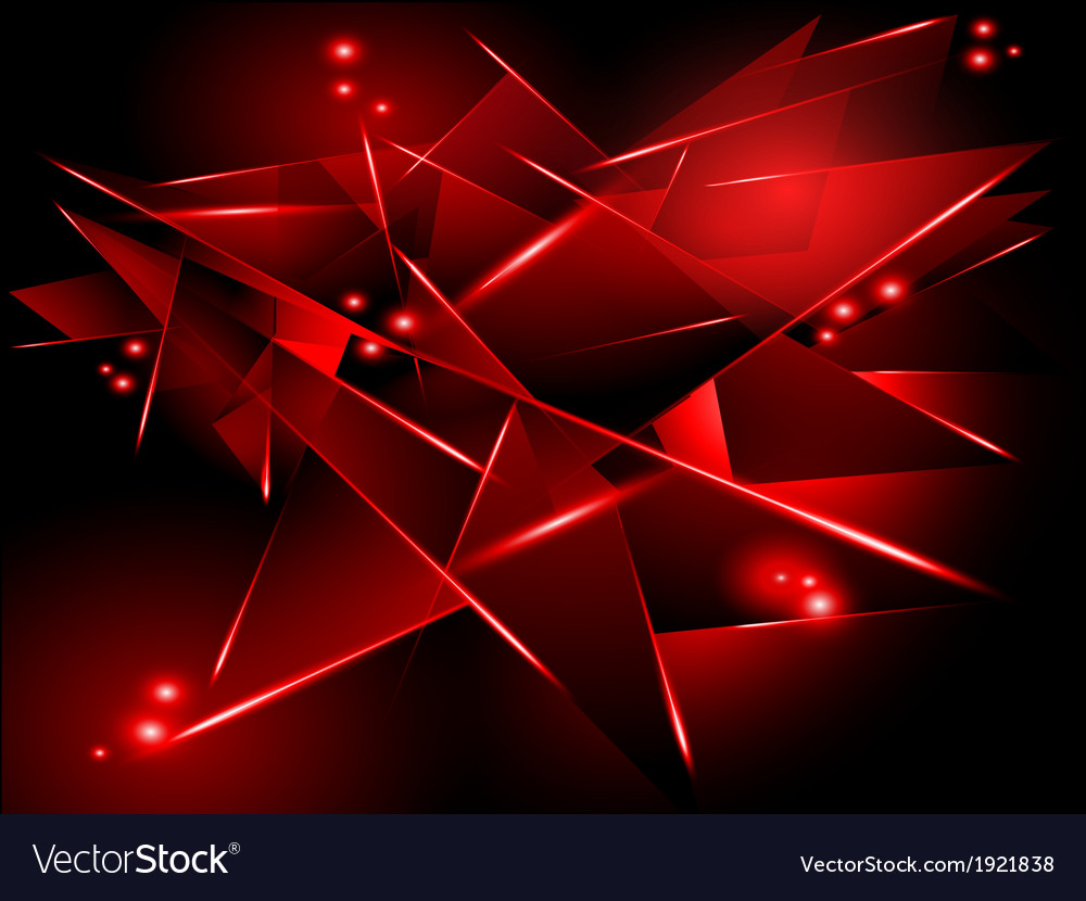 Abstract black background with red geometric vector | Price: 1 Credit (USD $1)