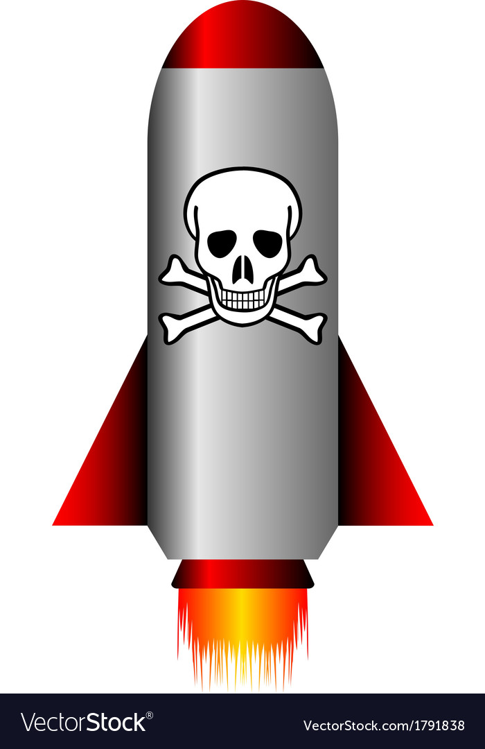 Poison rocket vector | Price: 1 Credit (USD $1)