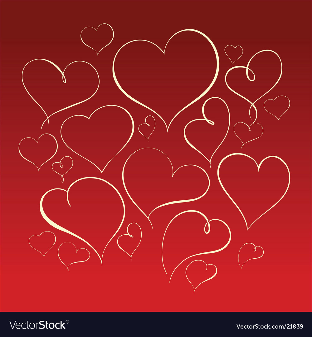 Heart forms vector | Price: 1 Credit (USD $1)