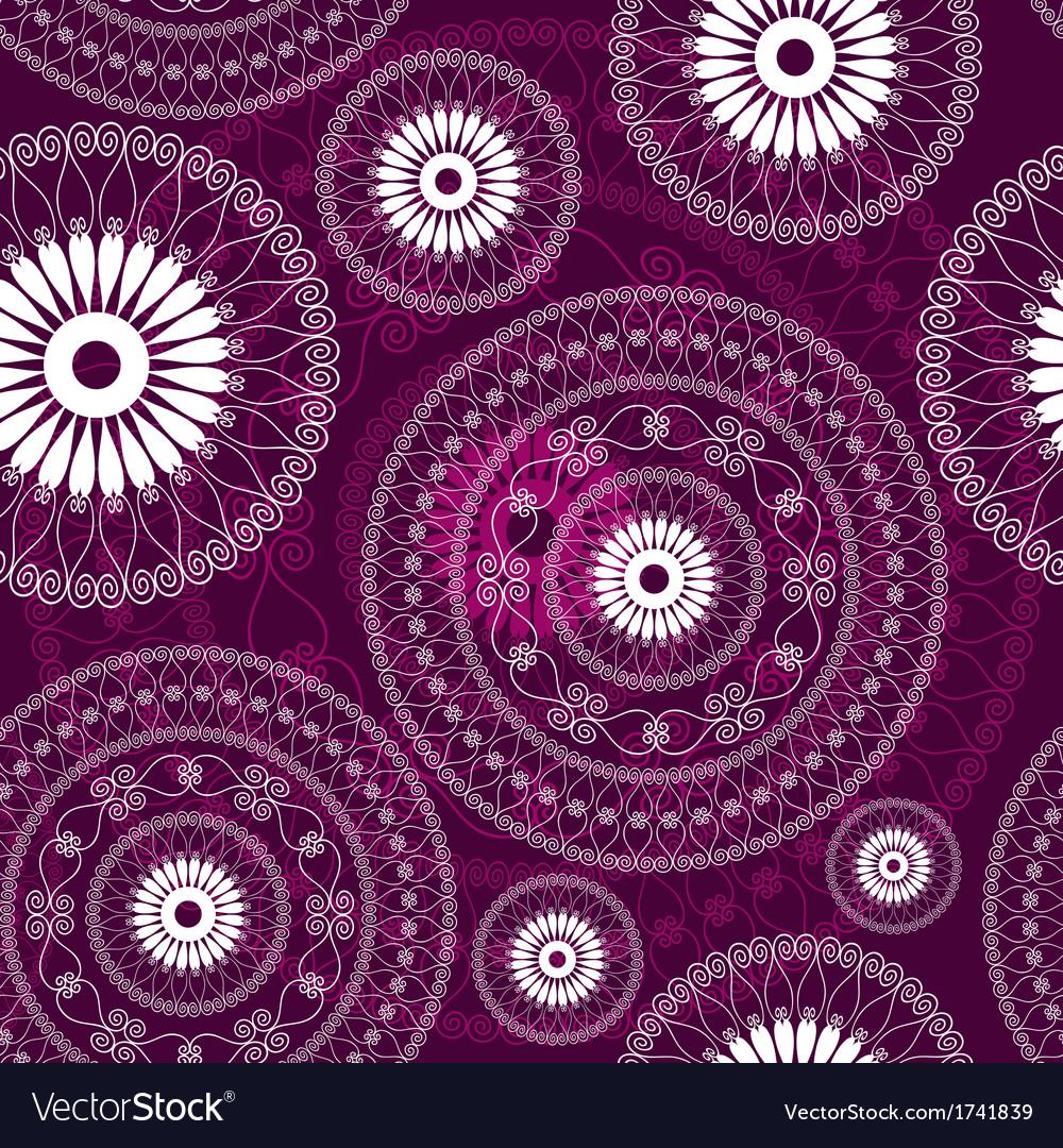 Purple seamless pattern vector | Price: 1 Credit (USD $1)