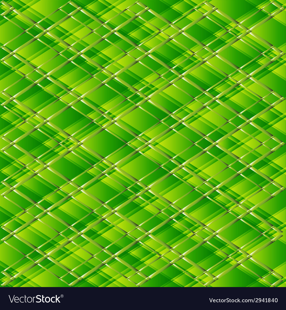Abstract pattern background green vector