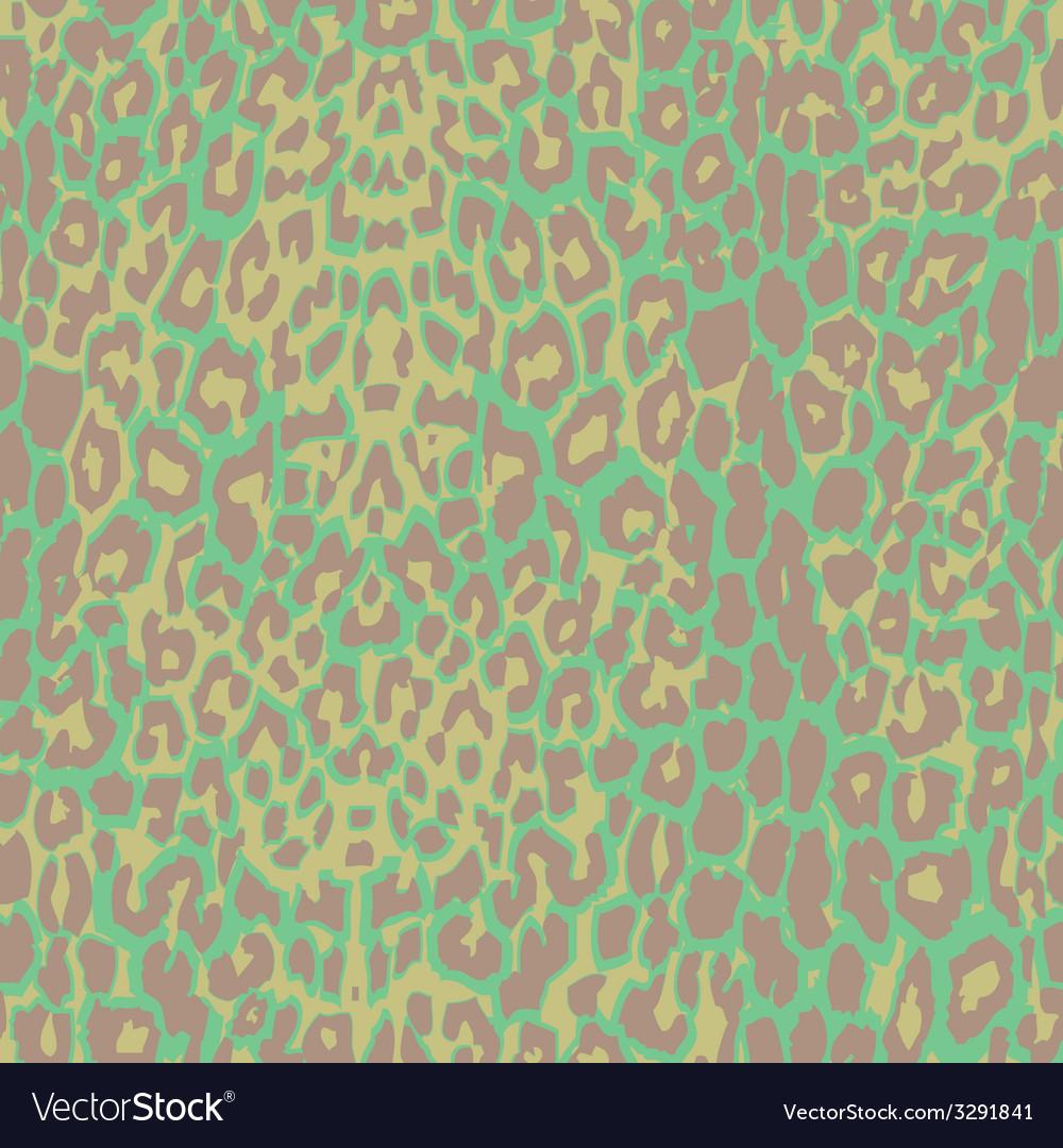 Green jaguar spotted background vector | Price: 1 Credit (USD $1)