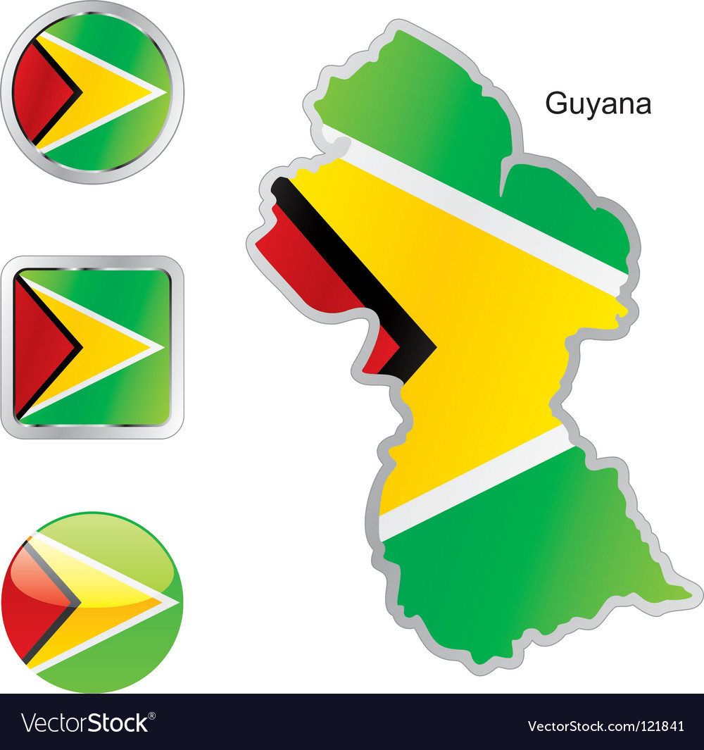 Guyana vector | Price: 1 Credit (USD $1)