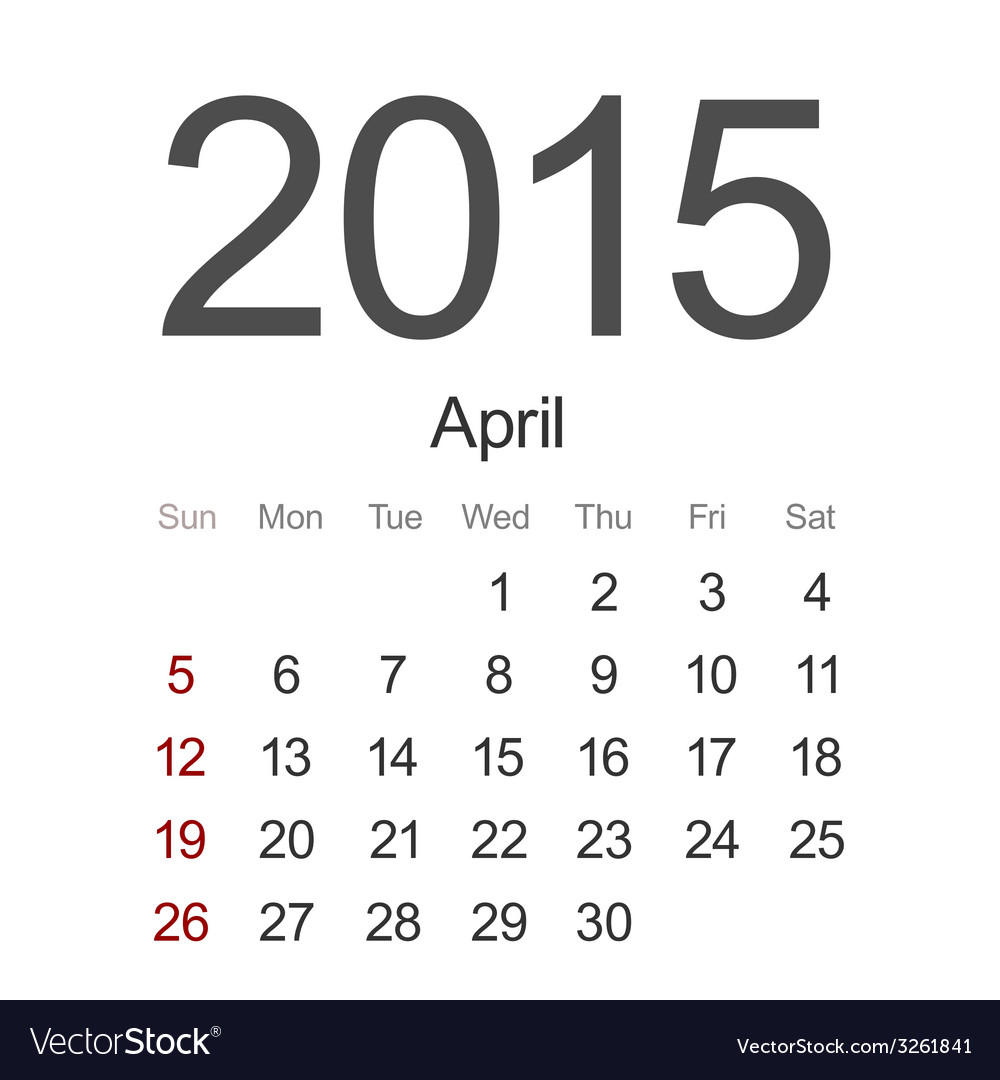 Modern 2015 calendar eps 10 vector | Price: 1 Credit (USD $1)
