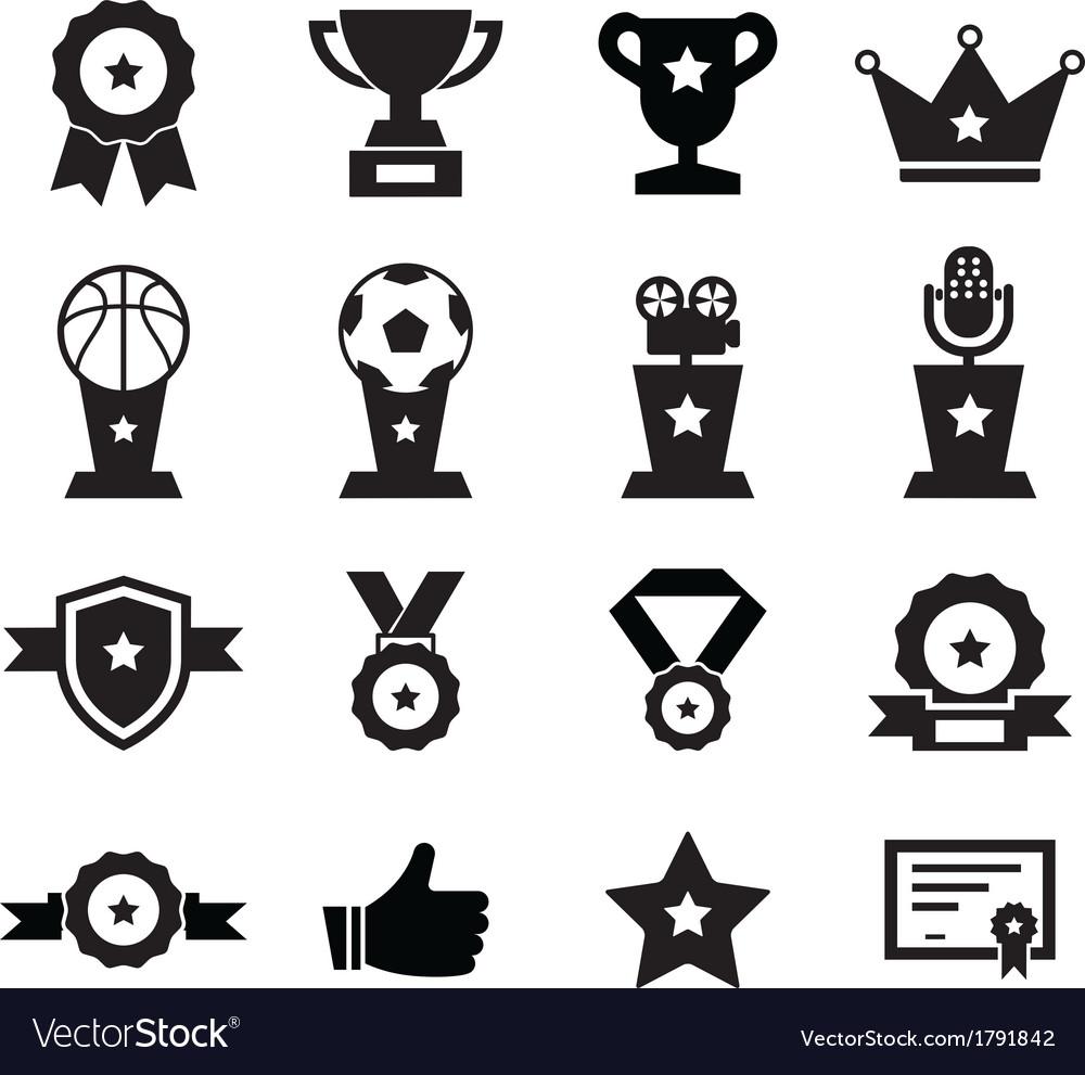 Awards icon vector | Price: 1 Credit (USD $1)