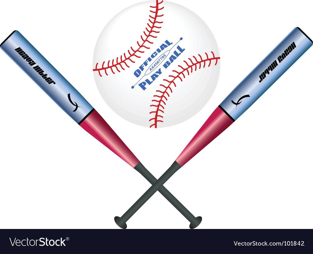 Baseball vector | Price: 1 Credit (USD $1)