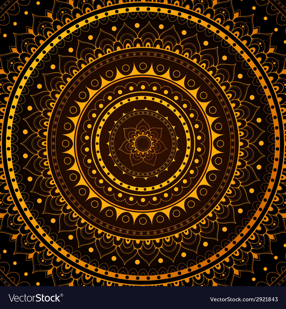 Circle ornament vector | Price: 1 Credit (USD $1)