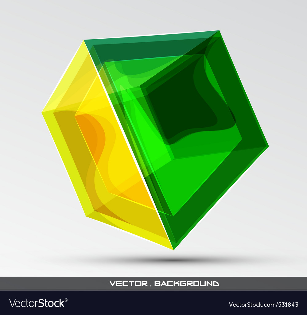 Glassy object vector | Price: 1 Credit (USD $1)