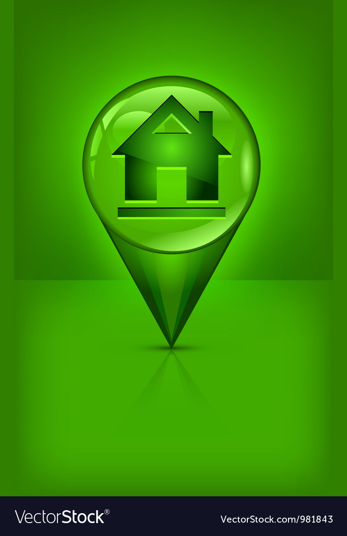 House location pin vector   Price: 1 Credit (USD $1)