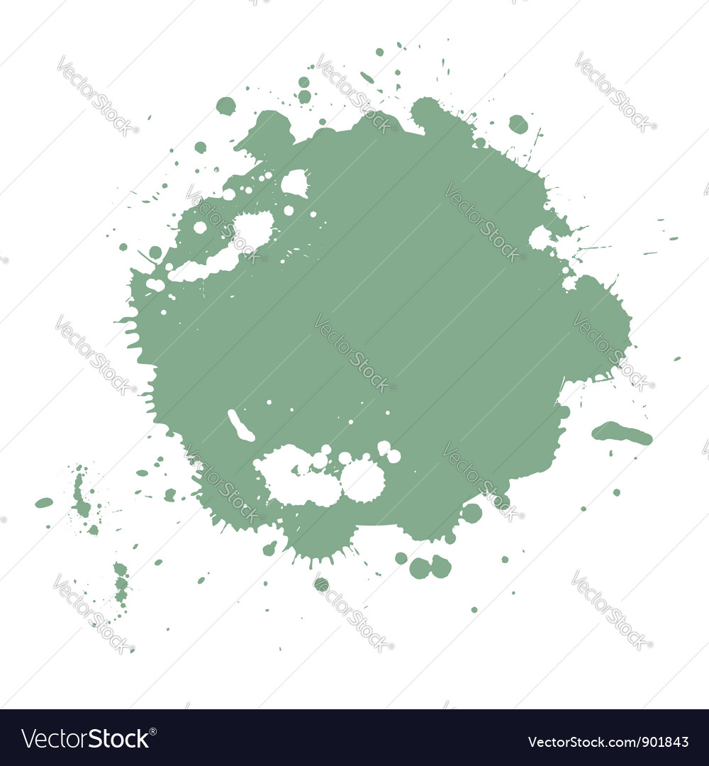Paint splash abstract pattern vector | Price: 1 Credit (USD $1)