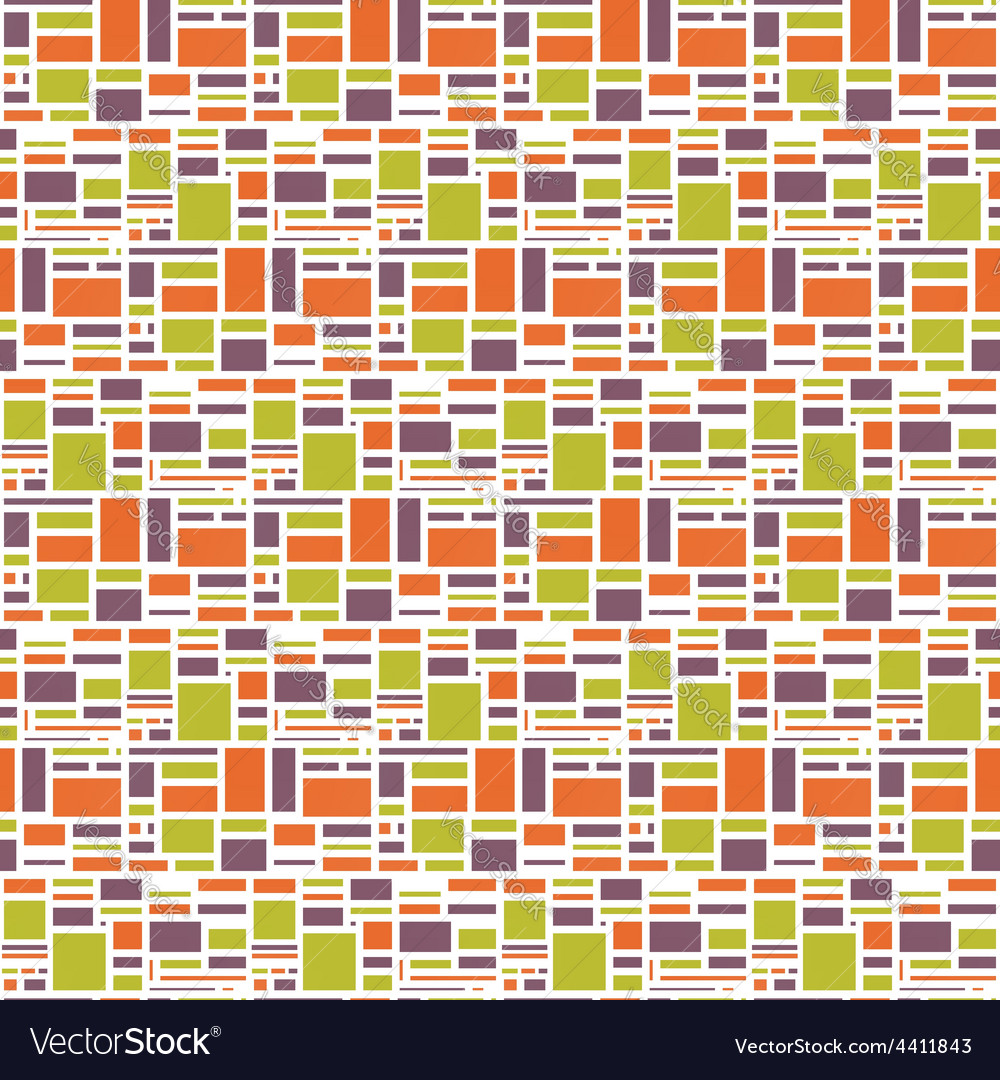 Seamles geometric abstract colorful pattern vector | Price: 1 Credit (USD $1)