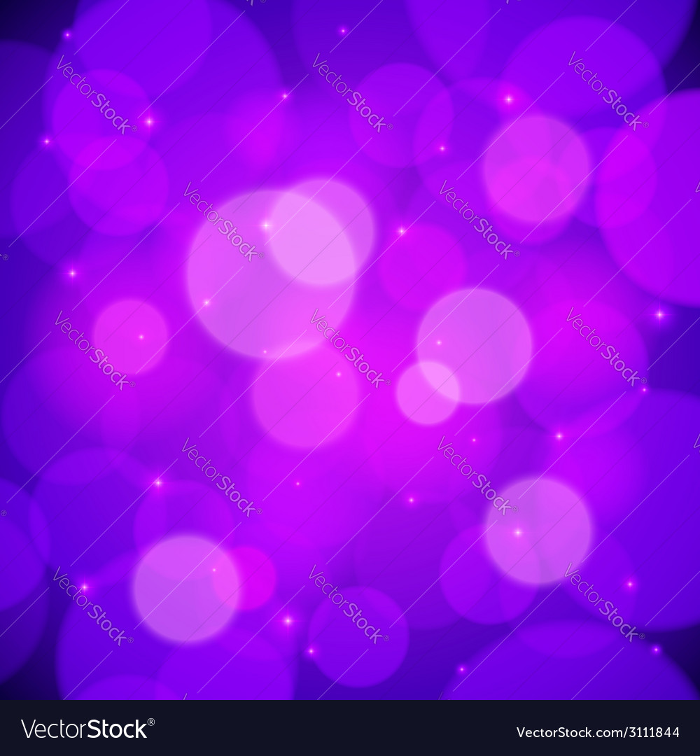 Purple bokeh effect abstract background vector | Price: 1 Credit (USD $1)