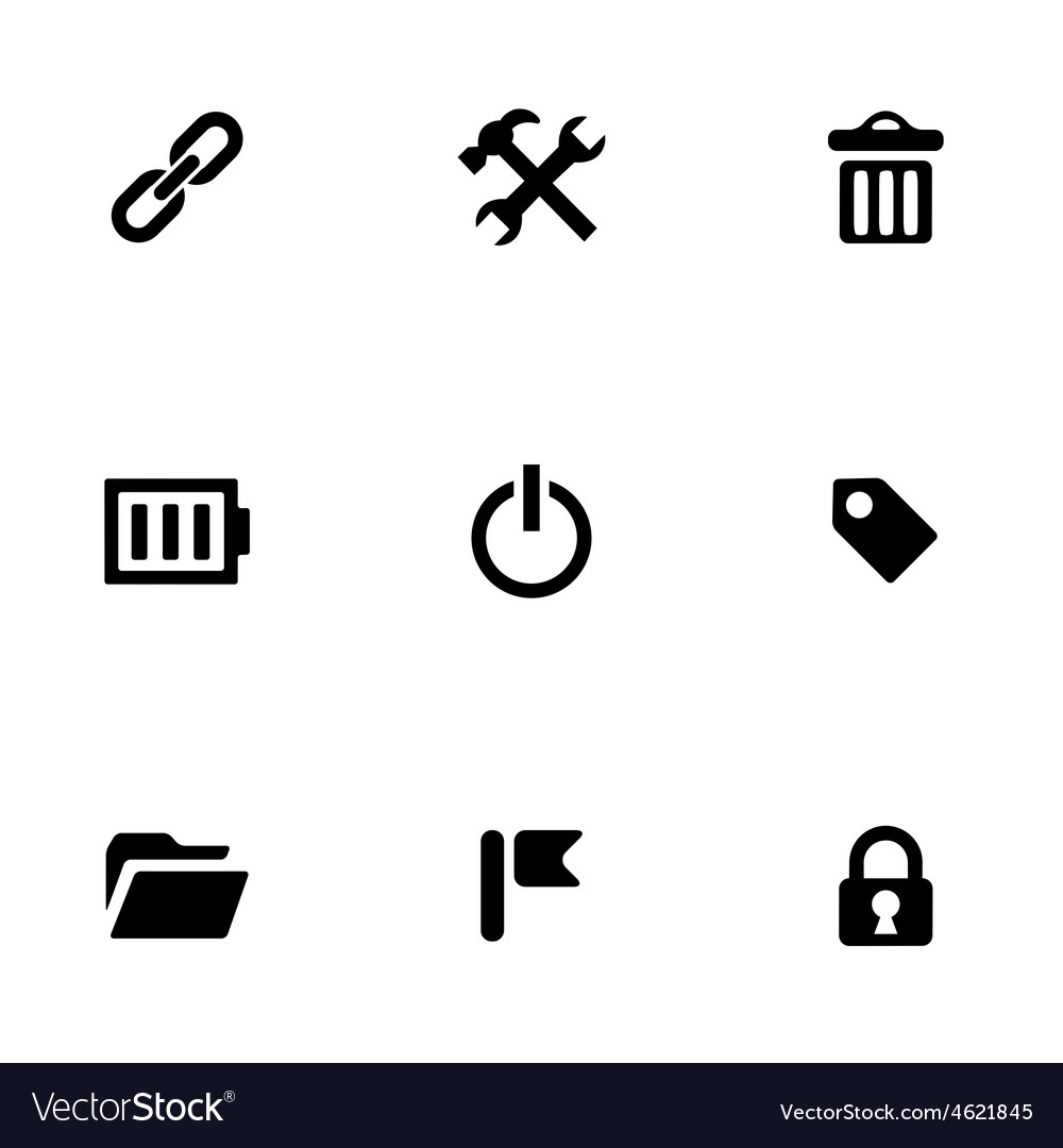 Universal 9 icons set vector | Price: 1 Credit (USD $1)