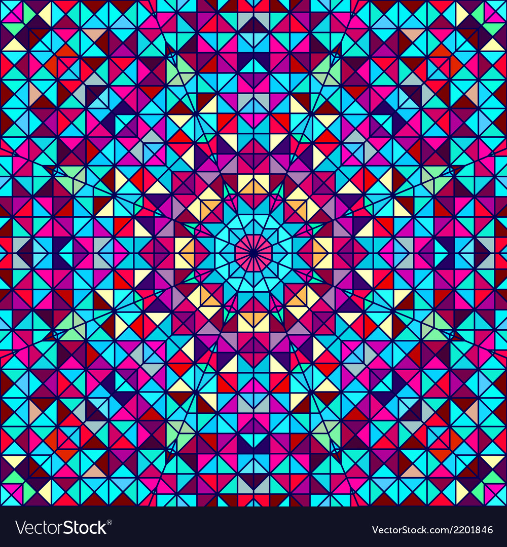 Abstract geometric color background vector   Price: 1 Credit (USD $1)