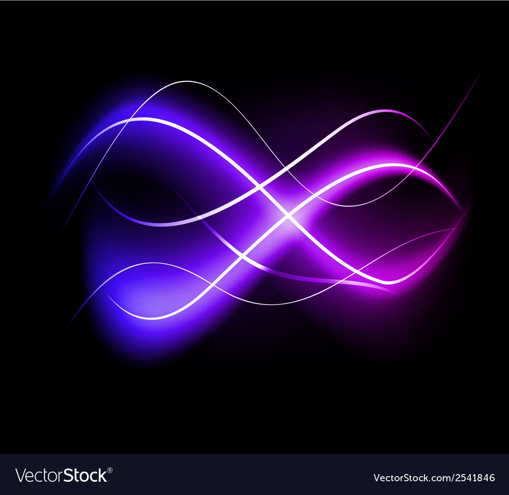 Blurry abstract purple light effect background vector | Price: 1 Credit (USD $1)