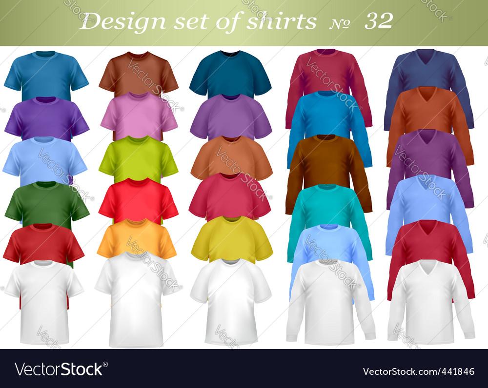 Shirt set vector   Price: 1 Credit (USD $1)