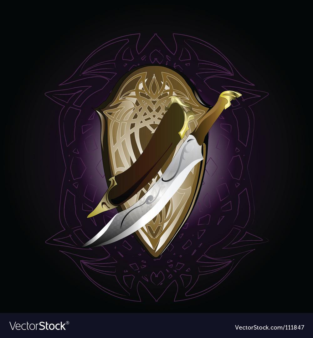 Dagger vector | Price: 1 Credit (USD $1)